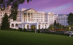 The Greenbrier Hotel in White Sulpher Springs, WV